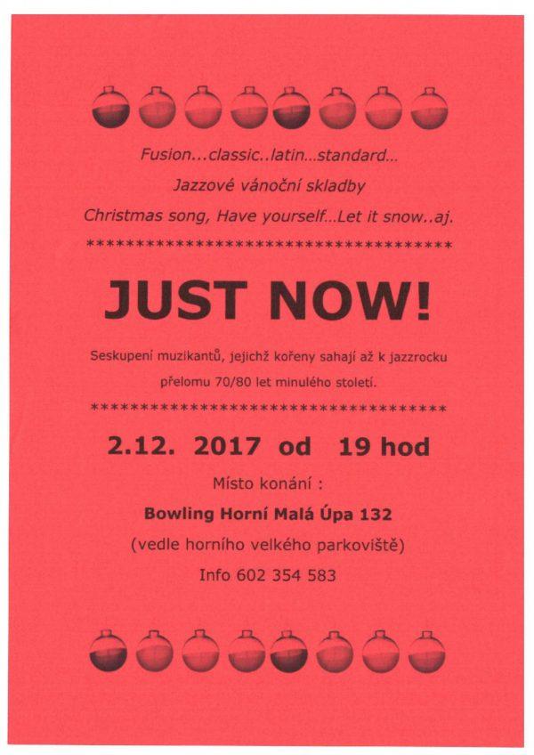 Just Now - jazzový koncert na Bowlingu
