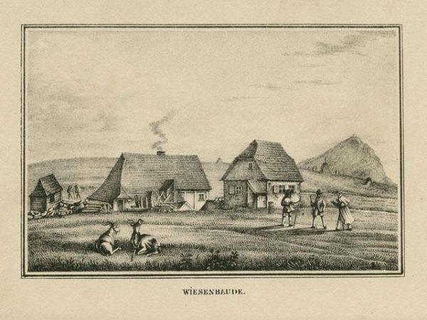 Bergmann - Krkonoše na starých mapách a litografiích